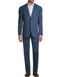 Corneliani - Classic-fit Solid Wool Suit - Lyst