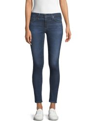 AG Jeans - Middi Ankle Jeans - Lyst