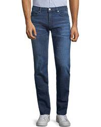 HUGO 708 Slim-fit Jeans - Blue