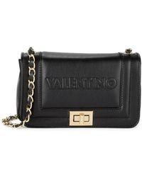 Valentino By Mario Valentino Women's Beatriz Leather Crossbody Bag - Black