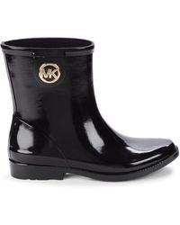 Michael Kors Benji Rain Boots - Black