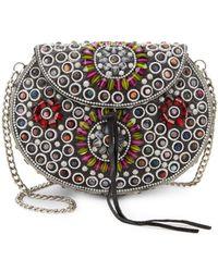 Sam Edelman - Classic Embellished Crossbody Bag - Lyst