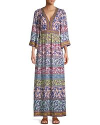 Alice + Olivia Women's Lena Floral Dress - Ditsy Floral Multi - Size 0 - Multicolour