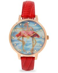Tommy Bahama Paradise Flamingo Watch - Multicolor