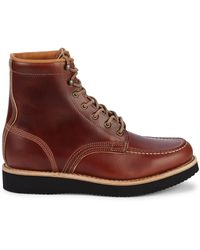 Timberland American Craft Moc-toe Leather Boots - Brown