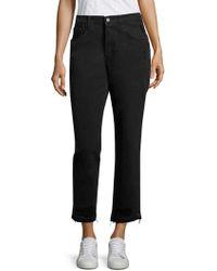 J Brand - Ivy High-rise Released Hem Straight-leg Jeans - Lyst