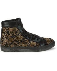 Steve Madden Riot High-top Sneakers - Black