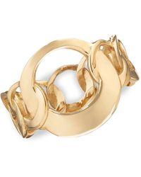 Lana Jewelry 14k Gold Chain Ring - Metallic