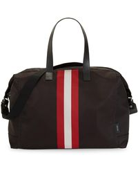 Bally Terret Stripe Tote - Black