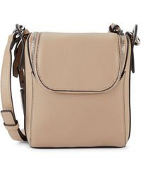 Vince Camuto Pebbled Leather Crossbody Bag - Multicolor