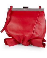 3.1 Phillip Lim Mini Estelle Soft Case Shoulder Bag - Red