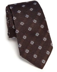 Ike Behar - Grenadine Silk Tie - Lyst
