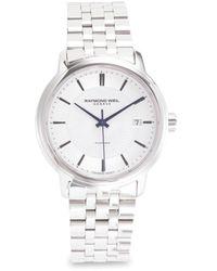 Raymond Weil Men's Stainless Steel Bracelet Watch - Metallic