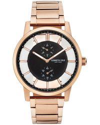 Kenneth Cole Transparency Stainless Steel Bracelet Watch - Metallic