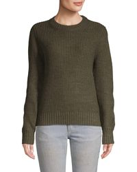 Sanctuary Open Back Sweater - Green