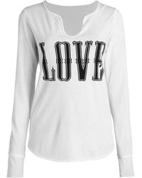 Zadig & Voltaire Tunisien Long-sleeve T-shirt - White