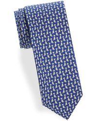 Ferragamo - Dog-print Silk Tie - Lyst