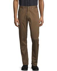 Perry Ellis Men's Stretch Trousers - Tarmac - Size 40 32 - Multicolour