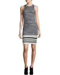 Ella Moss - Rib-knit Bodycon Dress - Lyst