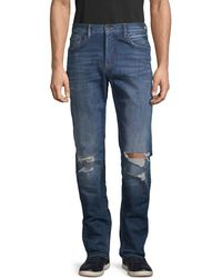 PRPS - Slim Tapered Distressed Jeans - Lyst