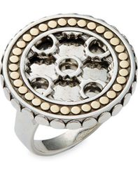 John Hardy - Large Dotted Statement Ring - Lyst
