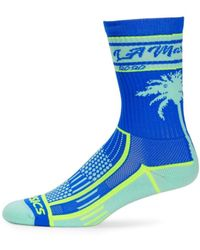 Asics La Crew Socks - Blue