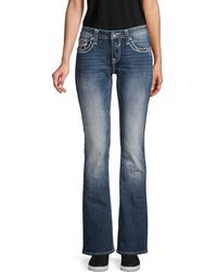 Vigoss Bootcut Stretched Jeans - Blue