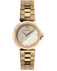 Versace Women's Idyia Stainless Steel Analog Bracelet Watch - Metallic