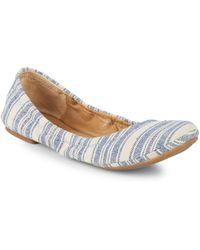 Lucky Brand - Emmie Striped Woven Ballet Flats - Lyst