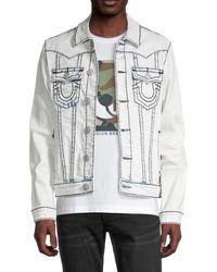 True Religion Jimmy Super T Denim Jacket - Multicolor