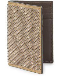 Giuseppe Zanotti - Studded Leather Bi-fold Wallet - Lyst