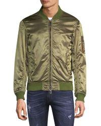Belstaff Classic Military Bomber Jacket - Green