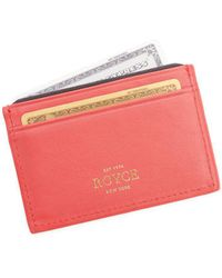 Royce - Rfid Blocking Executive Leather Credit Card Case - Lyst