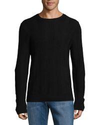 Saks Fifth Avenue - Knitted Wool Jumper - Lyst