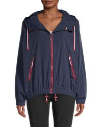 Tommy Hilfiger Pinnacle Windbreaker Jacket - Blue