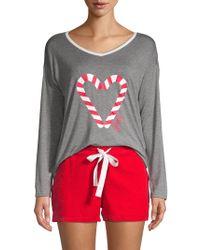 40d4cdec1c2 Juicy Couture - 2-piece Pajama Set - Lyst
