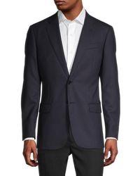 Armani Virgin Wool Sportcoat - Blue