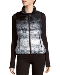 Marc New York - Ombre Puffer Vest - Lyst