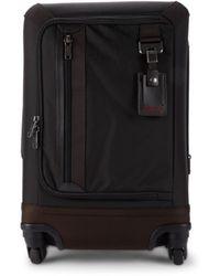 Tumi 22-inch Delridge International Expandable Nylon Carry-on Suitcase - Hickory - Black