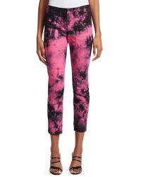 N°21 Tie Dye Ankle Pants - Pink