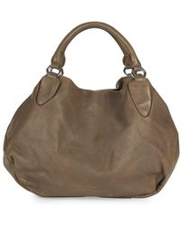 Liebeskind Berlin Classic Leather Hobo Bag - Brown