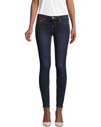 True Religion Halle Mid-rise Super-skinny Leg Jeans - Blue