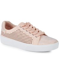 Vince Camuto - Chenta Leather Sneakers - Lyst