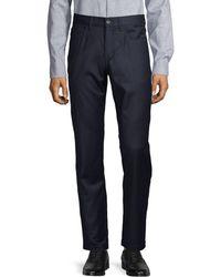 Saks Fifth Avenue Five-pocket Wool & Cashmere-blend Pants - Blue