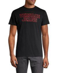 Versace Jeans Couture Men's Logo T-shirt - Black - Size Xs
