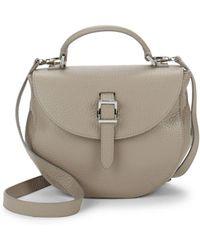 meli melo - Ortensia Mini Leather Saddle Bag - Lyst