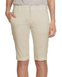 Vince Side-buckle Bermuda Shorts - Natural