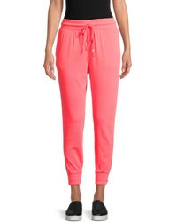 Free People Women's The Way You Move Sweatpants - Hot Watermelon - Size S - Pink