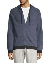 Saks Fifth Avenue Raglan-sleeve Cashmere Jacket - Gray