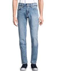 True Religion Geno Relaxed Slim Jeans - Blue